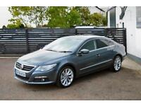 2009 VW PASSAT CC GT TDI ISLAND GREY 2 KEYS FSH LOW RATE FINANCE