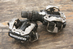 Shimano SPD m520 clipless pedals