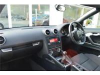 2009 Audi A3 Cabrio CB 2.0TDI Sport Man Diesel white Manual