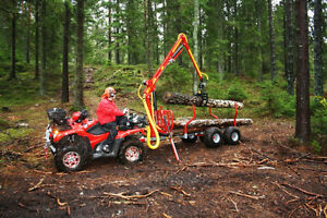 4x4 Log trailers and loaders for your ATV starting at $249.00/M St. John's Newfoundland image 4