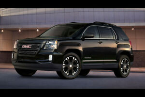 2017 GMC TERRAIN MIDNIGT FALL EDITION, 3.6L, AWD, SLE2,VUS