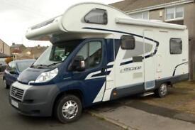 2012 Swift Escape 686 family motorhome, 6 berths, 6 seatbelts, 21000 miles
