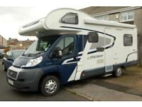 2012 Swift Escape 686 family motorhome, 6 berths, 6 seatbelts, 21000 miles