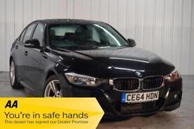 2014 64 BMW 3 SERIES 2.0 318D M SPORT 4D 141 BHP DIESEL
