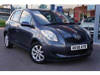 2008 TOYOTA YARIS 1.3 VVT i TR AIR CON and ALLOYS