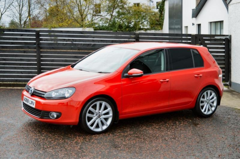 2010 vw golf mk6 gt tdi tornado red top spec fsh 18 wheels a3 leon in ballymoney county. Black Bedroom Furniture Sets. Home Design Ideas