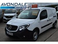 2013 MERCEDES CITAN 109 CDI VAN WITH LOW MILEAGE AND PROFESSIONAL SHELVING AND I