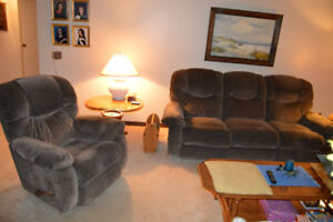 LaZBoy 3 Seat Sectional Reclining Sofa