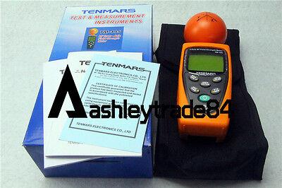 Tenmars Tm-195 Digital 3-axis Emf Rf Radiation Electrosmog Power Meter Tester