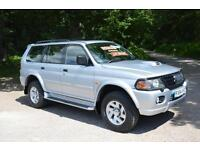2004 MITSUBISHI SHOGUN SPORT 2.5 TD Equippe 5dr [114] ONLY 33,000 MILES