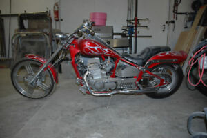 2008 Johnny PAG 300 Spyder Chopper Style M/C (accident vehicle)