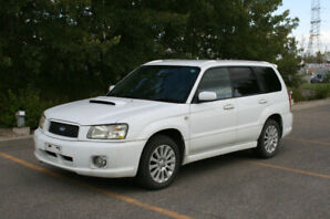 JDM 2003 Subaru Forester XT (SG5) Cross Sport Edition Turbo