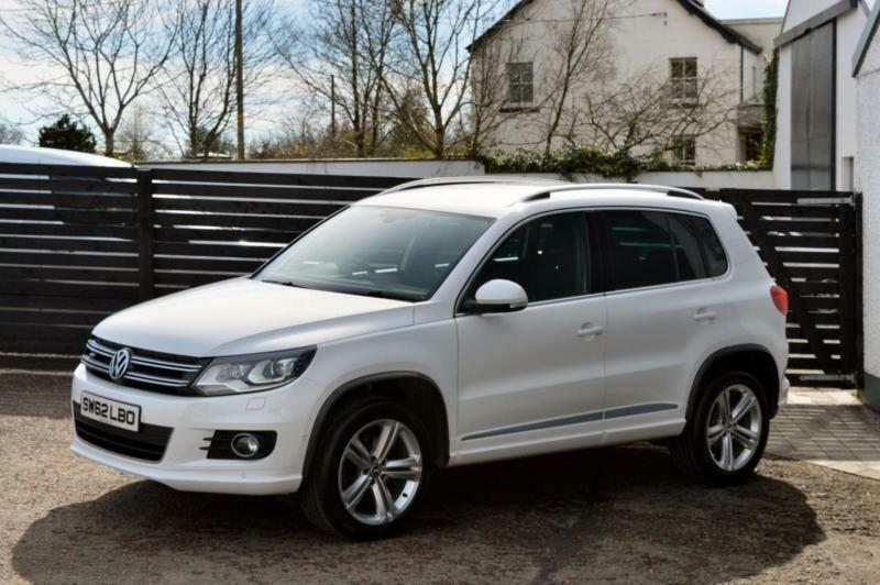 2013 vw tiguan r line tdi 4motion fvsh top spec candy. Black Bedroom Furniture Sets. Home Design Ideas
