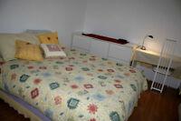 Appartement meublée à L'Île-Bizard, lieu paisible et champêtre