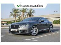 2014 Bentley 2014 BENTLEY CONTINENTAL GT COUPE GASOLINE AUTOMA Auto Coupe Petro