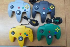 Nintendo 64 Manette officielle en excellente condition, garantie de 30 jours! N64