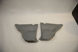 SC300  SC400 lower rear interior liners, grey $50