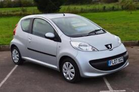 PEUGEOT 107 1.0 Urban 3dr 2 AUTOMATIC ONLY LOW MILEAGE 28,000 MILES £20 TAX