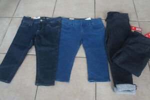 Four new with tag size 4T girl pants.