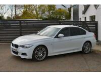 2014 BMW F30 320D M SPORT 8 SP AUTO ALPINE WHITE FSH 19S TOP SPEC (330d 520d)