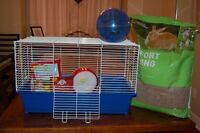 Large Sized Hamster Cage - Clean & EUC