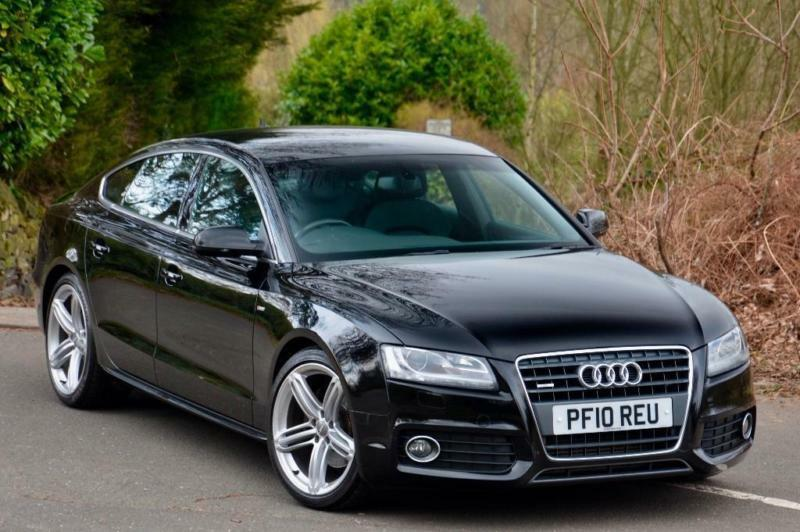 2010 audi a5 2 0 tfsi s line sportback quattro 5dr in sheffield south yorkshire gumtree. Black Bedroom Furniture Sets. Home Design Ideas