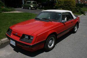 1986 3.8L  V6  Mustang Convertible