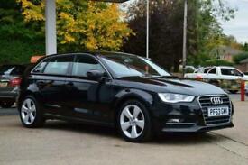 2014 Audi A3 1.6 TDI Sport Sportback 5dr Diesel black Manual
