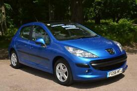 2006 PEUGEOT 207 1.4 16V SE 5dr ECONOMICAL ONLY 33,000 MILES