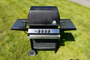 BROIL-MATE Barbeque with side burner and cover