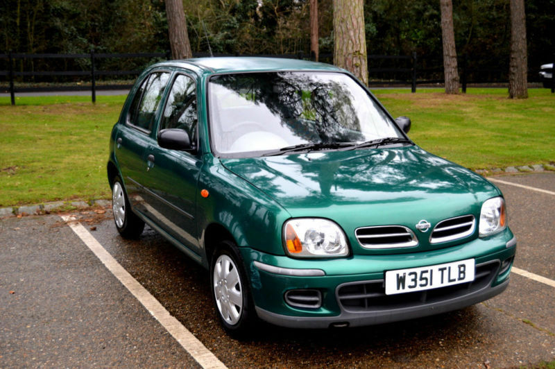 2000 low mileage nissan micra 1 0 16v cvt automatic profile 5 door hatch in uxbridge london. Black Bedroom Furniture Sets. Home Design Ideas