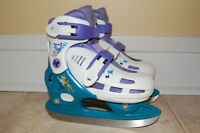 Disney Princess Skates Size J9-10-11-12 youth skates adjustable