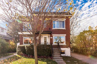 Modern & Renovated 3 1/2 in NDG (right next to Loyola Campus)