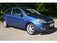 2008 FORD FIESTA 1.4 Zetec Blue 3dr ONE OWNER 21,000 MILES