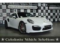 2014 Porsche 911 3.8 TURBO PDK 2d 520 BHP Semi Auto Coupe Petrol Automatic