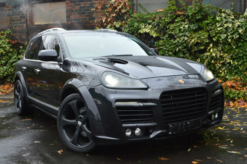 Porsche Cayenne 48 Tiptronic Sgenuine Techart Magnum Conversion