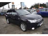Mitsubishi Outlander 2.0 ( 119bhp ) 4X4 PHEV ( 5st ) Auto 2014MY GX4h SAT NAV