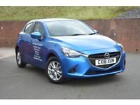 2018 Mazda 2 1.5 75 SE+ 5dr Petrol blue Manual