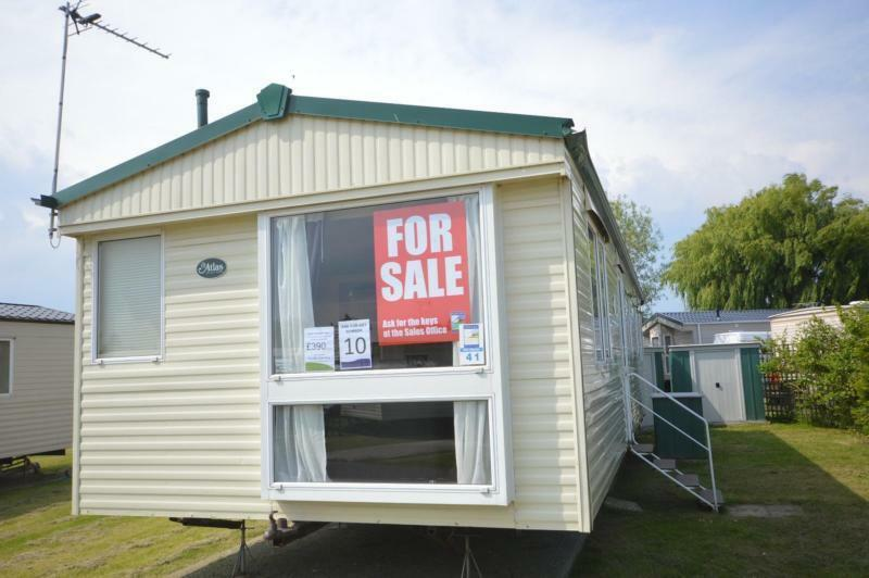 Static Caravan Steeple, Southminster Essex 3 Bedrooms 8 Berth Atlas Everglade