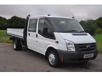 Ford Transit 2.4 TD 350 LWB D/C DROPSIDE TRUCK £9,495 + VAT