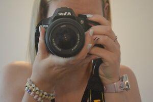 Nikon D3200 bundle kit like new!
