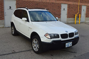 RARE 6-SPEED 2005 BMW X3 2.5 SUV, Crossover