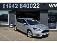 2015 15 FORD FOCUS 1.6 ZETEC TDCI 5D 114 BHP DIESEL 6SP S/S NEWSHAPE HATCH
