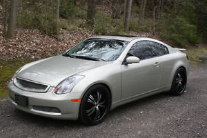 2005 Infiniti G35 M series coupe Coupe (2 door)