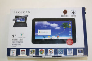 Proscan PLT7100G Tablet, Connect to internet wifi anywhere