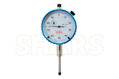 Shars 1 High Precision Dial Indicator .001 Agd 2 Graduation Lug Back New