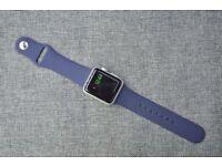 Navy Sport Strap for Apple Watch 38mm