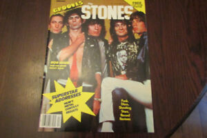 Grooves Magazine February 1979, The Rolling Stones, Bob Seger