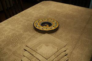 Nappe en lin 61x79 po Linen Tablecloth