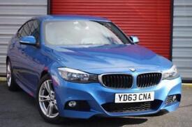 2013 63 BMW 3 SERIES 2.0 320D M SPORT GRAN TURISMO 5D AUTO 181 BHP DIESEL